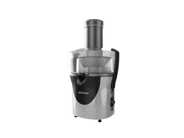 Juiceman All-in-one Juice Extractor - 800 W Motor - Black, Stainless Steel