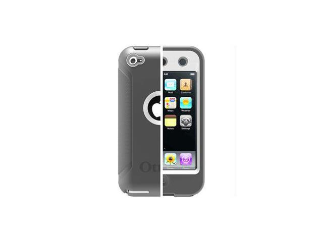 Otterbox Defender Case for Apple Ipod Touch 4 4th 4G Gen Glacier Gray & White In Retail Box 77-20223