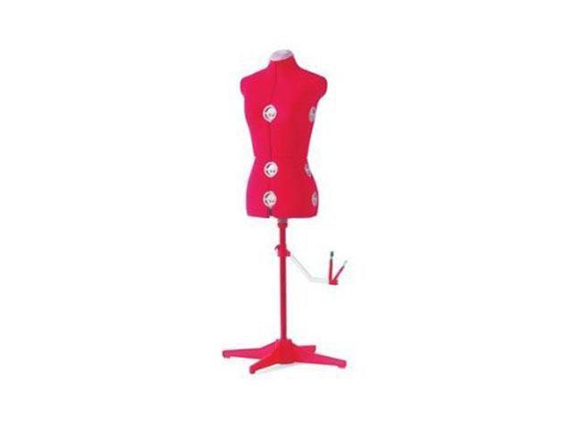 SINGER DF151 RED Adjustable Dress Form, L