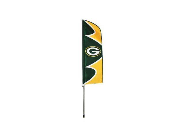 "Party Animal Green Bay Packers Swooper Flags - United States - 42"" x 13"" - Durable, Weather Resistant, UV Resistant, Lightweight, ..."