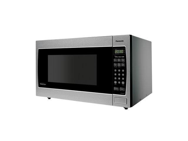 Panasonic 1250 Watts Luxury Full-Size 2.2 cu. ft. Genius Countertop / Built-in Microwave Oven with Inverter Technology NN-SN973S Sensor Cook Stainless Steel