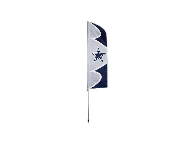 """Party Animal Cowboys Swooper Flags - United States - Texas - 42"""" x 13"""" - Durable, Weather Resistant, UV Resistant, Lightweight, ..."""