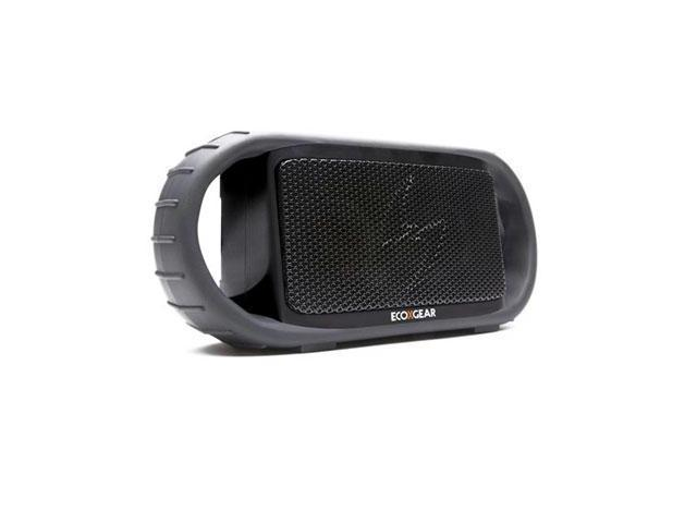 ECOXBT Black Waterproof Speaker w/ BT