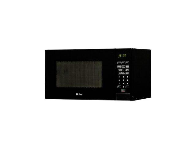 "Haier 0.9 Cu. Ft. 900 Watt Microwave - Single - 0.90 ft_ Main Oven - 10 Power Levels - 900 W Microwave Power - 10.63"" Turntable ..."