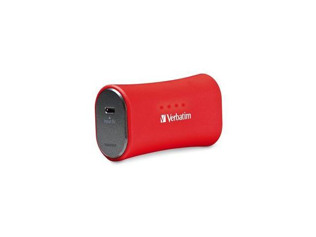 Portable Power Pack 2200mAh Red