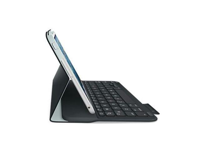 Logitech 920-005893 Logitech Ultrathin Keyboard Folio (PU Leather) for iPad mini Carbon Black