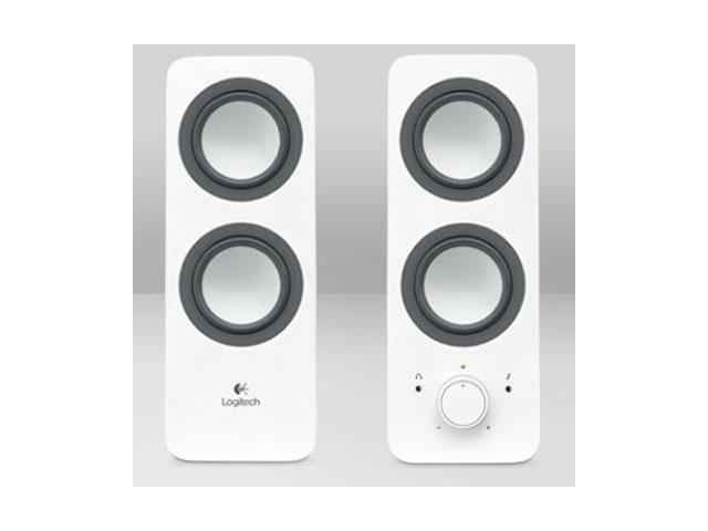 Logitech 980-000801 2.0 Multimedia Speakers Z200 with Stereo Sound for Multiple Devices