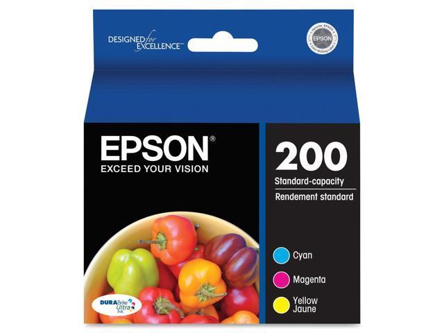 EPSON T200520 Multi-Pack Color DURABrite Ultra Ink Cartridges Multi-Pack (Cyan, Magenta, Yellow)