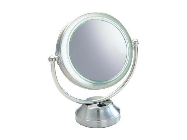 lighted vanity mirror 15x mag. Black Bedroom Furniture Sets. Home Design Ideas