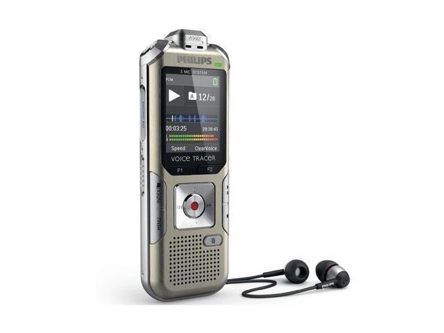 Philips Voice Tracer DVT6500 4GB Digital Voice Recorder