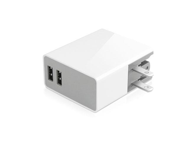 24W Dual Port Wall Charger