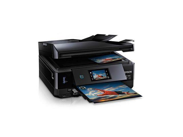Epson Expression Photo XP-860 (C11CD95201) Up to 9.5 ppm 5760 x 1440 dpi USB/Ethernet/Wireless Duplex All-in-One Inkjet Printer