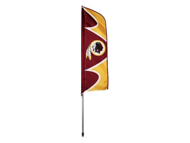 """Party Animal Redskins Swooper Flags - United States - Washington - 42"""" x 13"""" - Durable, Weather Resistant, UV Resistant, ..."""