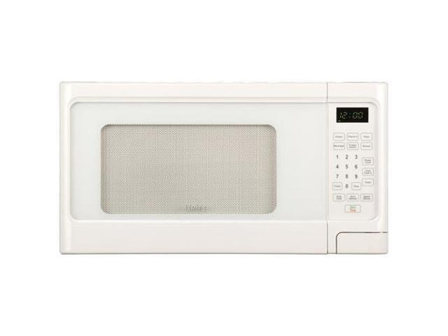 "Haier 1.1 Cu. Ft. 1000 Watt Microwave - Single - 1.10 ft_ Main Oven - 10 Power Levels - 1 kW Microwave Power - 12.40"" Turntable ..."