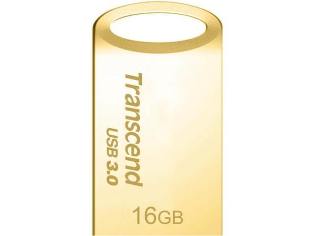 TRANSCEND 16GB JetFlash 710, Gold Plating TS16GJF710G