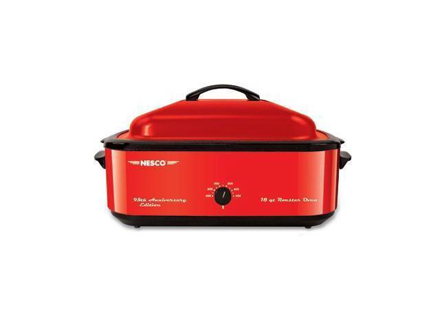 NESCO 4818-22 Red 18 Qt. Roaster Oven 18qt 95th Anv Red