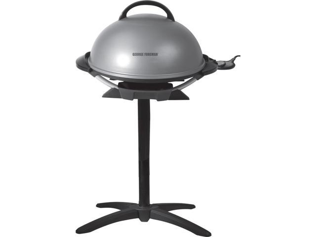George Forman Electric Indoor ~ George foreman indoor outdoor electric grill gfo s