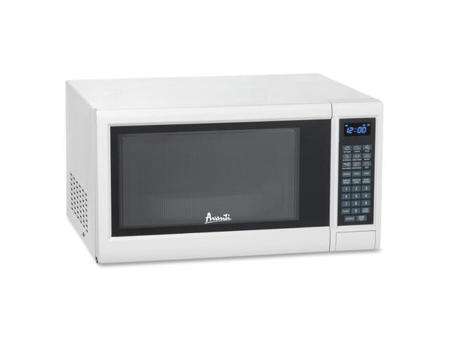 Avanti 1.2 CF Electronic Microwave with Touch Pad - Single - 1.20 ft³ Main Oven - 10 Power Levels - 1 kW Microwave Power - White
