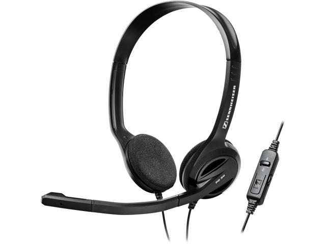 Sennheiser PC 36 Call Control Headset - Stereo - Black - USB - Wired - 32 Ohm - 40 Hz - 18 kHz - Over-the-head - Binaural - Supra-aural - 9.84 ft Cable - Noise Cancelling Microphone