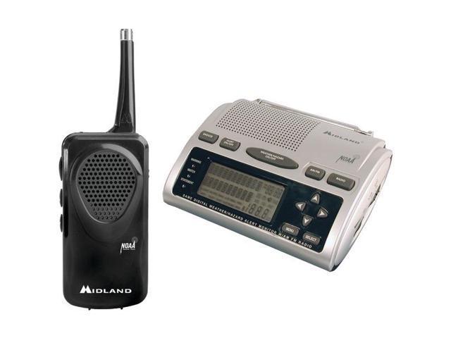 Midland Wr300 And Hh5O Weather Radio Bundles