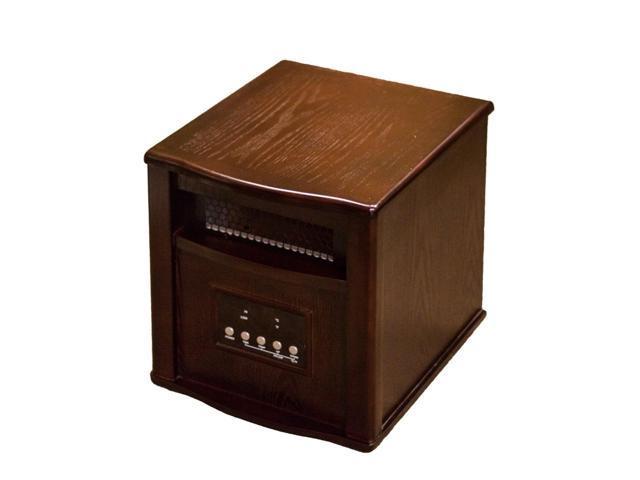 AZ Patio Heaters HIL-WI-0035OAK Oak Indoor Space Heater with Remote ...