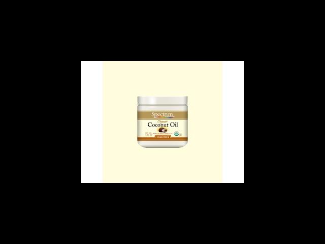 Organic Coconut Oil Skin Care - Spectrum Essentials - 15 oz - Oil