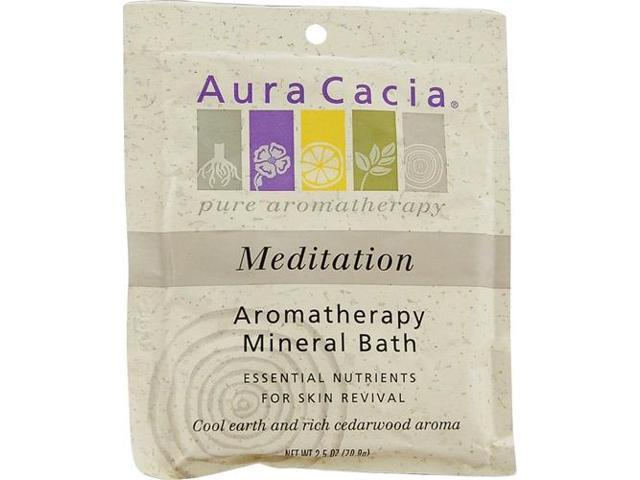 Mineral Bath-Meditation - Aura Cacia - 2.5 oz - Bath Salt