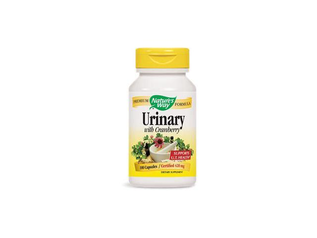 Urinary Formula With Cranberry - Nature's Way - 100 - Capsule