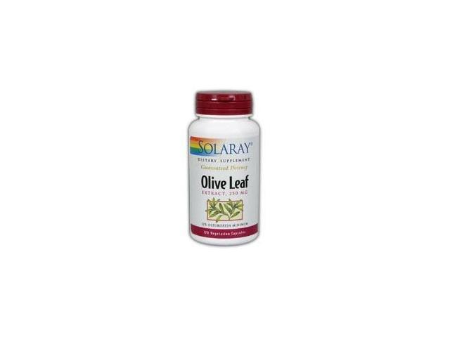 Olive Leaf Extract 22% - Solaray - 120 - Capsule