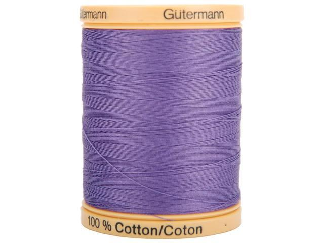 Natural Cotton Thread Solids 876 Yards-Grape