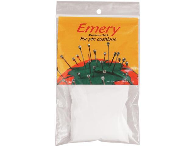 White Emery For Pincushions-4 Ounces