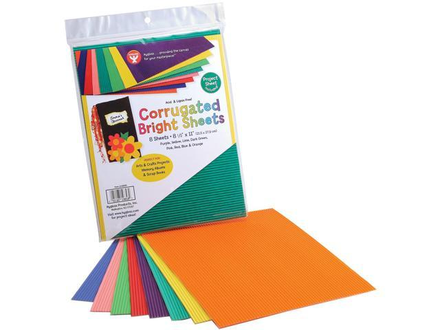 Corrugated Bright Sheets 8-1/2