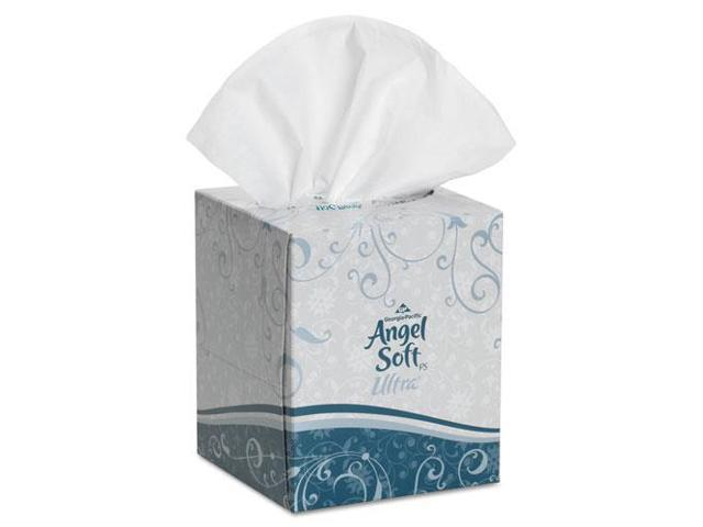 Georgia Pacific Angel Soft ps Ultra Premium Facial Tissue, White, 7.6