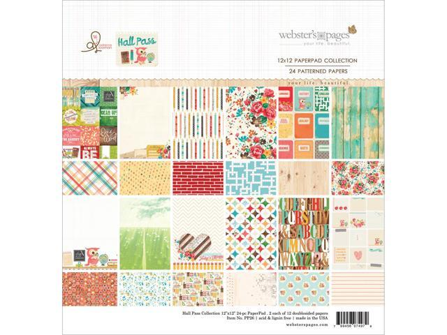 Webster's Pages Paper Pad 12