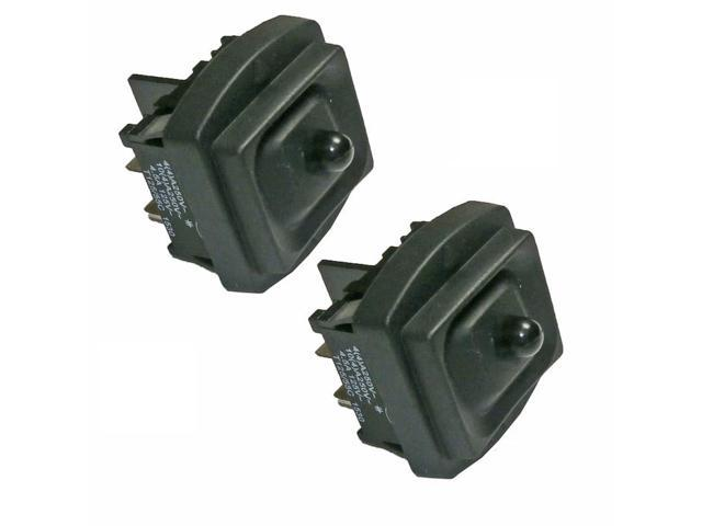 Black and Decker 2 Pack Of Genuine OEM Replacement Switches # 151462-00-2PK