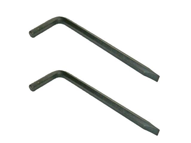 Black and Decker 2 Pack Of Genuine OEM Replacement Hex Wrenches # 90502723-2PK
