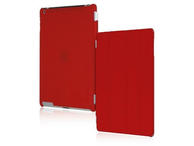 Incipio iPad-231 Smart Feather Ultralight Hard Shell Case for Apple iPad 2 - Red