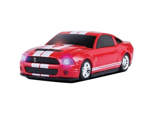 Road Mice HP-11FDSHRXW Shelby GT500 Optical Mouse - Red / White