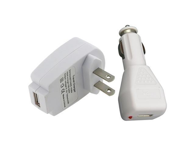 Universal Apple® USB Charger Kit - 12v Car + Wall Charger ...
