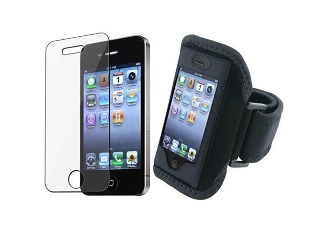 Sport ArmBand+Screen Protector compatible with iPhone�� 4 4S 4G 4th IOS4