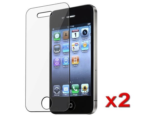 2 NEW CLEAR LCD SCREEN PROTECTOR SHEETS compatible with iPhone®4 4S 4G 4GS 4G