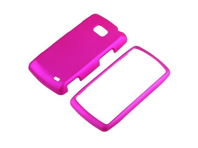 compatible with LG Ally VS740 Phone Pink Hard Snap On Case Cover