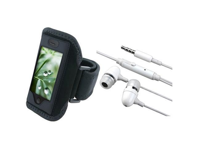 Sport ArmBand + Earphone w/ Mic Compatible With iPhone® 2G 3G 3GS 4 4th iPhone® 4S - AT&T, Sprint, Version 16GB 32GB 64GB