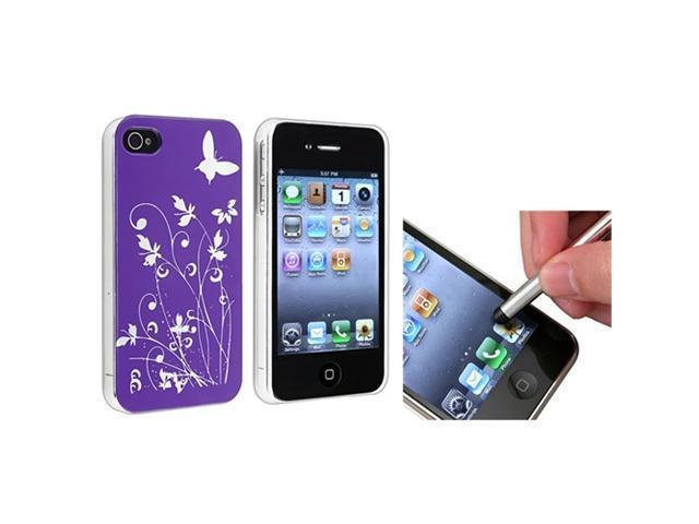 Insten Silver Cell Phone - Stylus