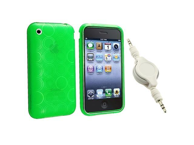 Insten Green Circle Cell Phone - Case & Covers