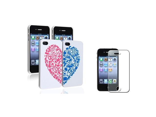 Insten White Perforated Cell Phone - Case & Covers