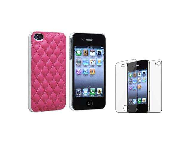 Insten Pink Argyle Cell Phone - Case & Covers
