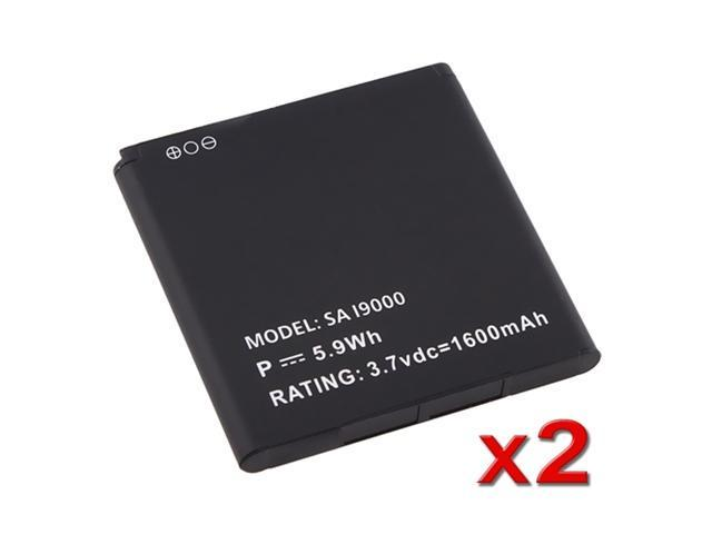 2X Li-Ion BATTERY compatible with Samsung© Galaxy S i9000 Epic 4G D700 SGH-i897 Captivate NEW