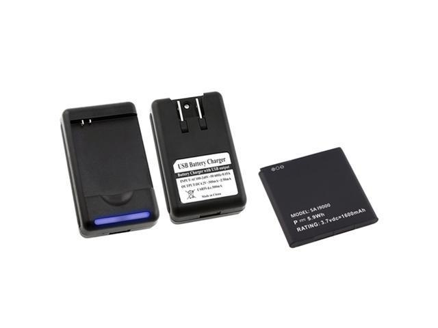 Battery+Desktop Charger compatible with Samsung© Captivate AT&T