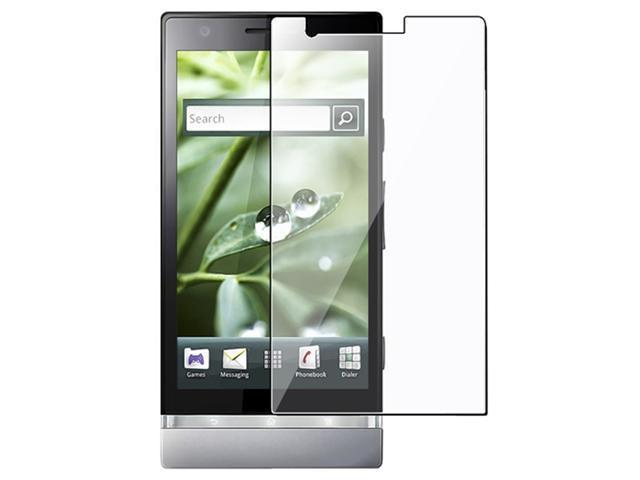 Reusable Screen Protector compatible with Sony Ericsson Xperia P LT22i, Clear